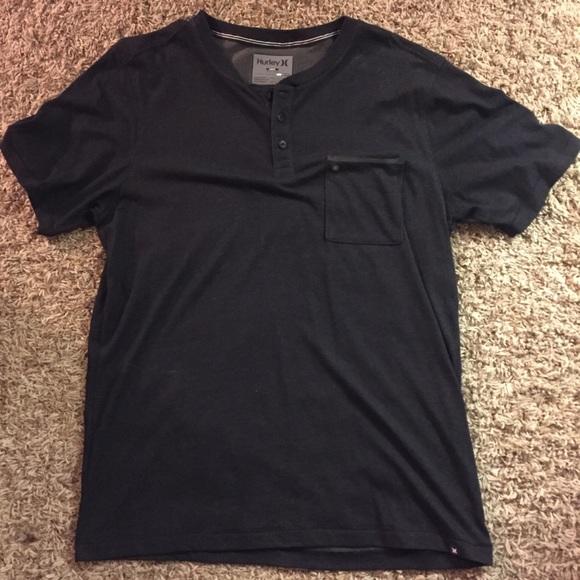 7520b876a Hurley Shirts | Dri Fit Henley Shirt | Poshmark